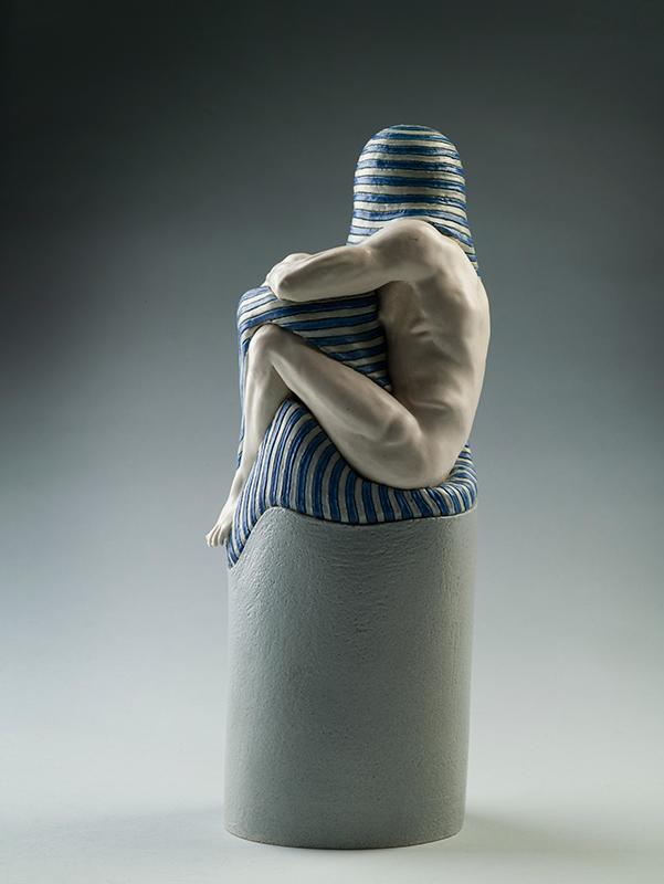 Pieza de cerámica de Els van Westerloo