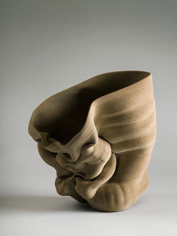 Pieza de cerámica de Anne Marie Laureys