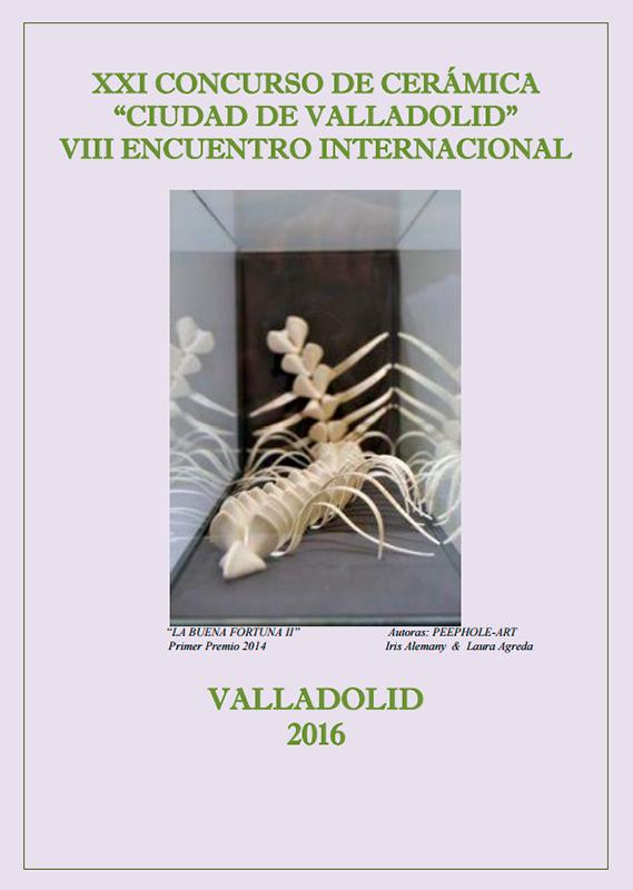 Cartel del concurso de cerámica de Valladolid