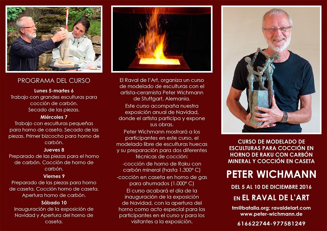 Cartel del curso de Peter Wichmann