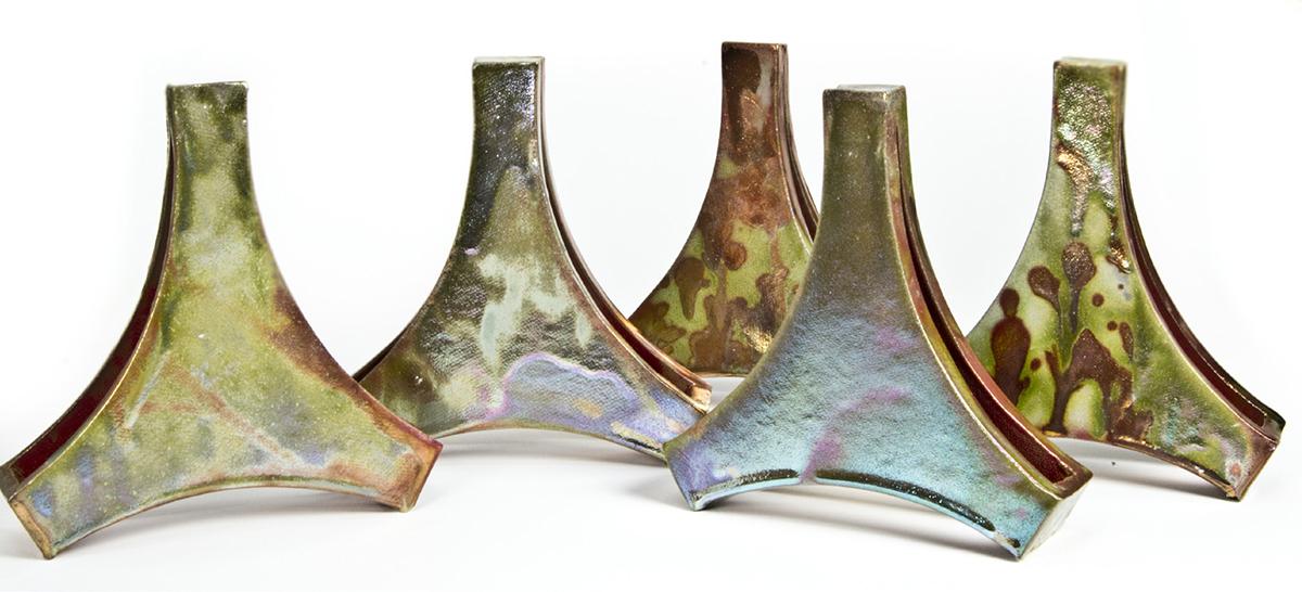 Pieza de cerámica de Ester Bouzada