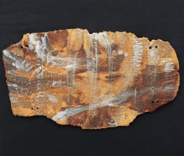 Pieza de cerámica de Isabel Portillo