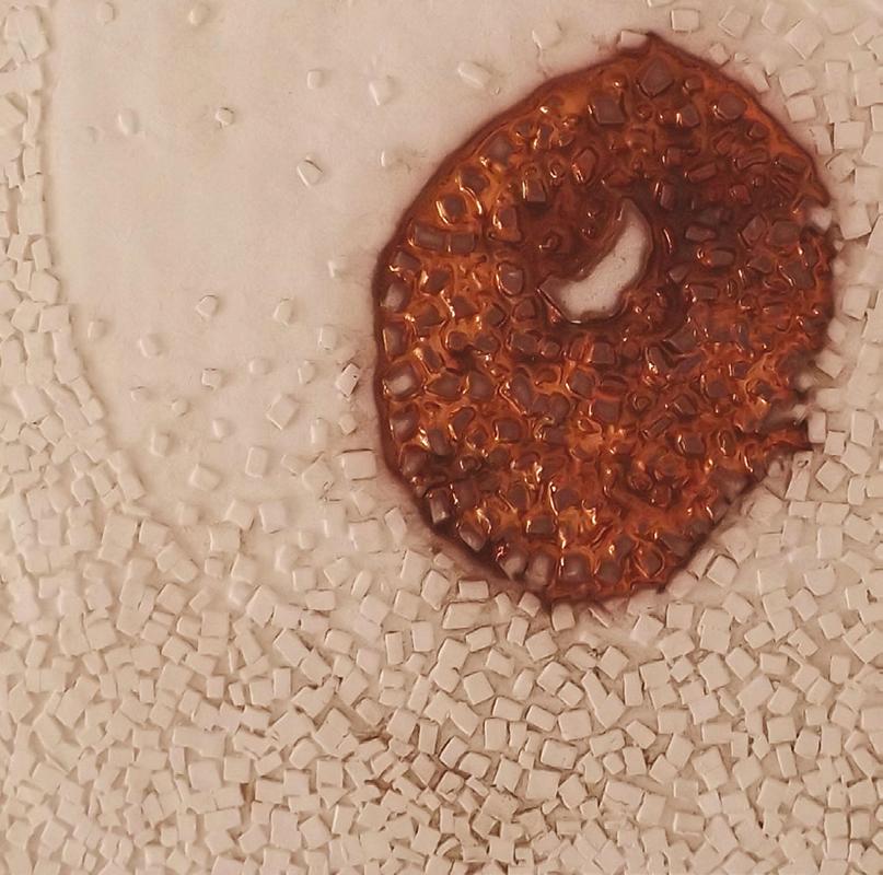 Pieza de cerámica de Mar Marcelino