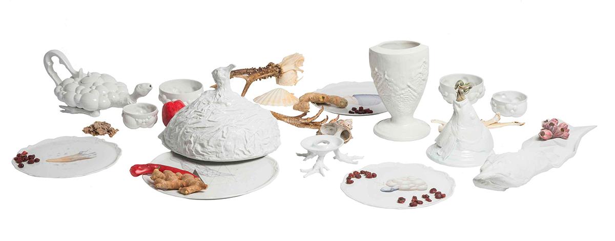 Pieza de cerámica de Spath Volokhova