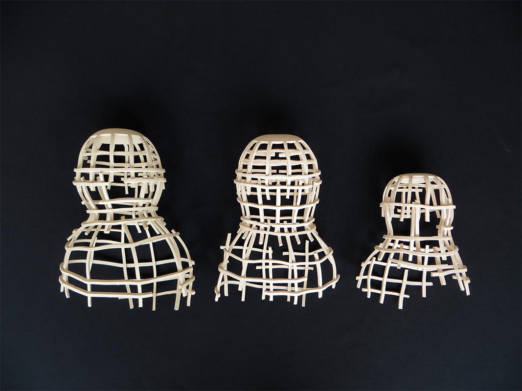 Pieza de cerámica de Cristina Mato