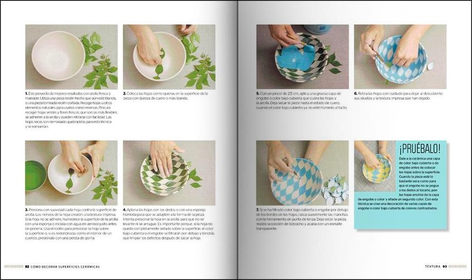 Libro Cómo decorar superficies cerámicas