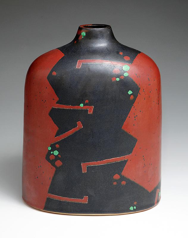 Pieza de cerámica de Morino Hiroaki