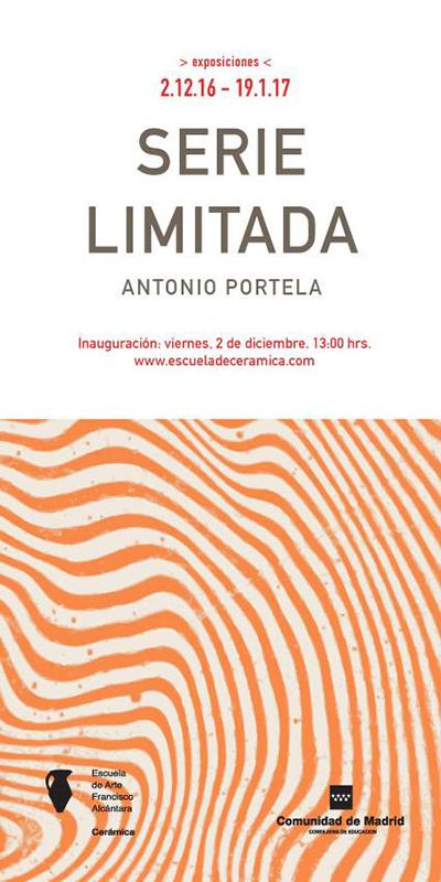 Exposición de cerámica de Antonio Portela
