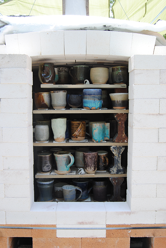 Horno de cerámica de Joe Finch