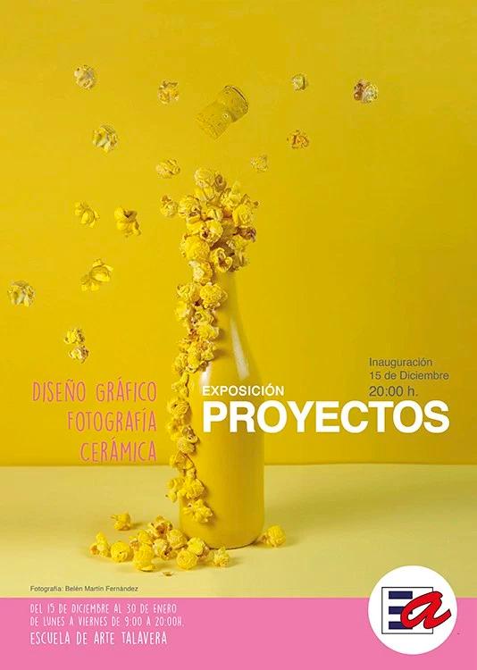 Exposición en la Escuela de Arte de Talavera