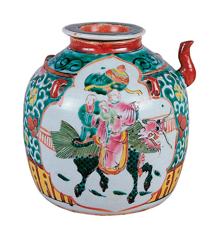 Pieza de cerámica china