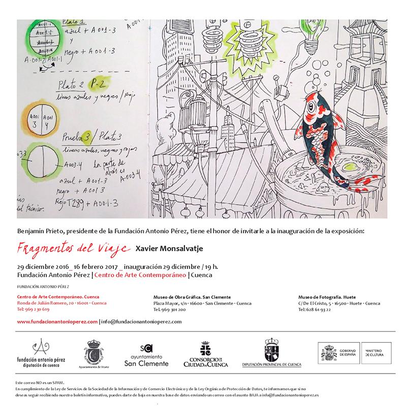 Cartel de Xavier Monsalvatje