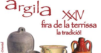 Cartel de la feria de cerámica de La Galera