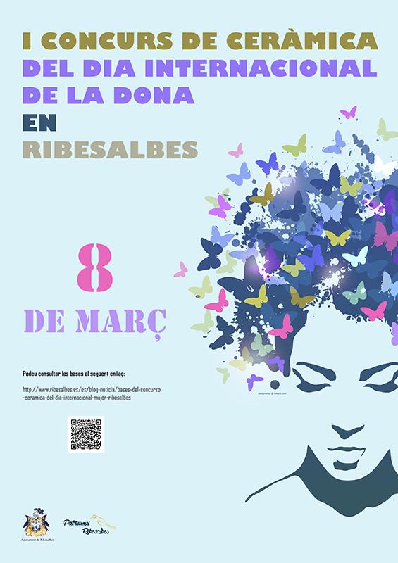 Cartel del Concurso de cerámica de Ribesalbes