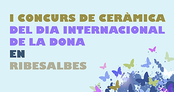 Cartel del Concurso de cerámica de RibesalbesCartel del Concurso de cerámica de Ribesalbes