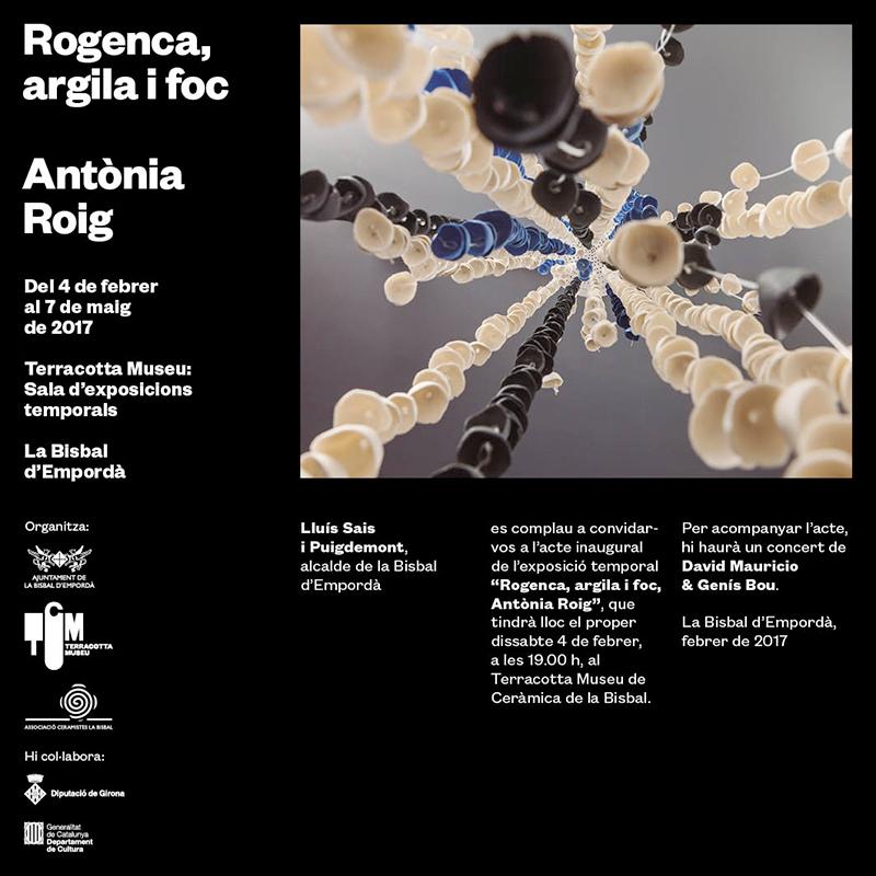 Exposición de cerámica de Rogenca