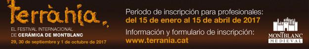 Terrània - Festival Internacional de Cerámica de Montblanc