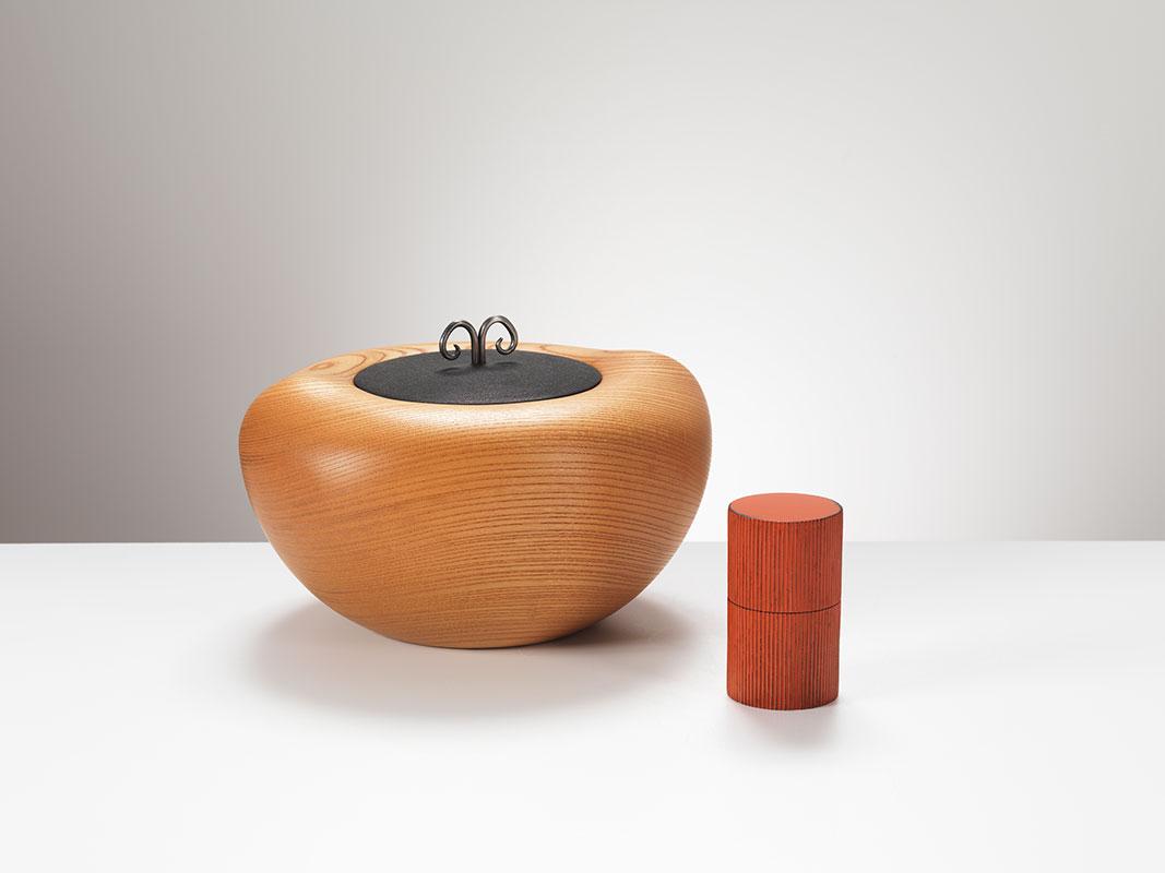 Pieza de madera de Jihei Murase