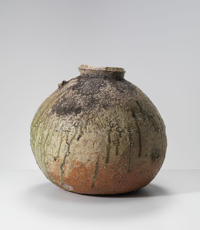 Pieza de cerámica de Shiro Tsujimura