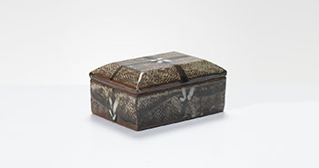 Pieza de cerámica de Tatsuzo Shimaoka