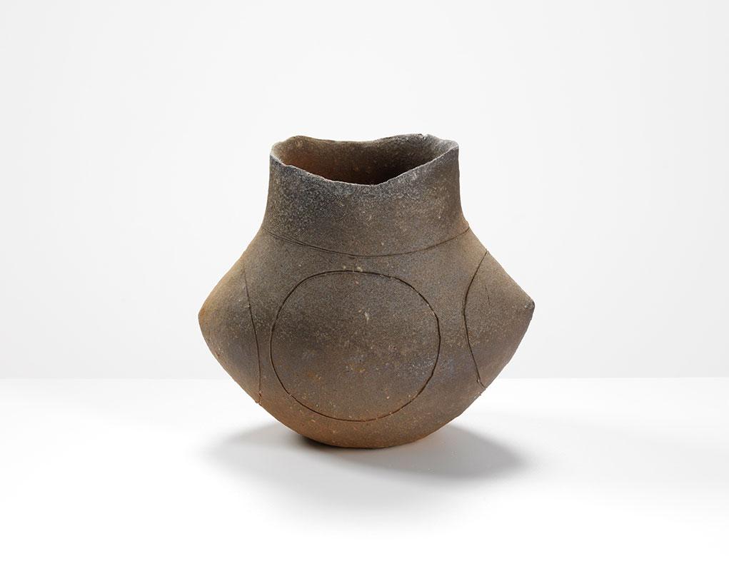 Pieza de cerámica de Yasuhisa Kohyama