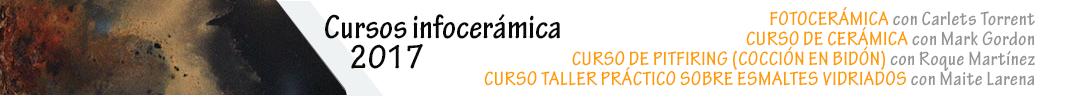 Cursos de cerámica - Infocerámica