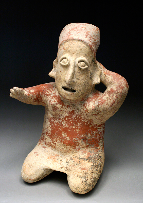Pieza de cerámica precolombina