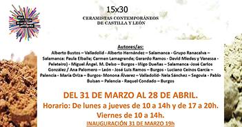 Cartel de la exposición en CEARCAL