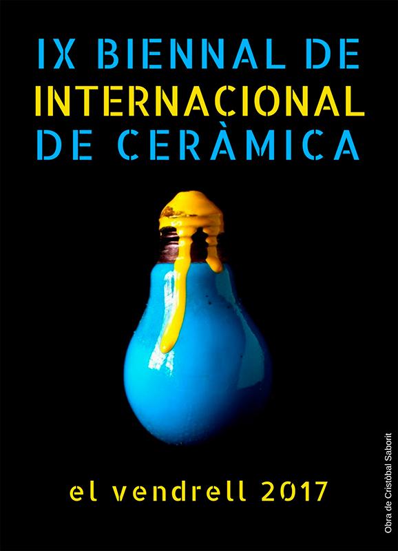 Cartel del Concurso de cerámica del Vendrell