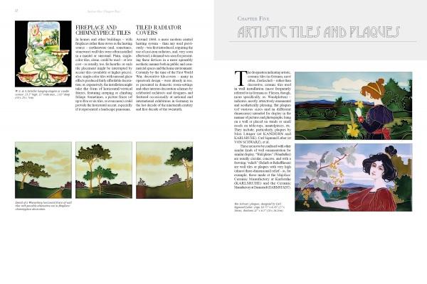 Páginas interiores del libro Tiles & Style