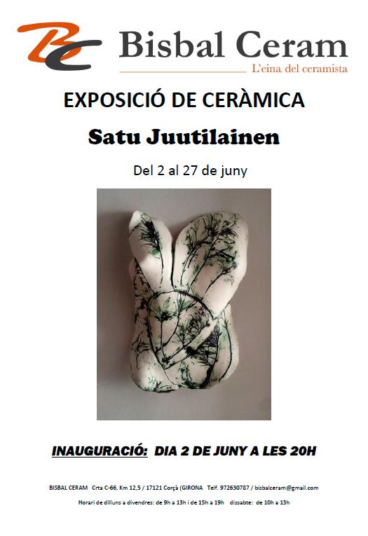 cerámica de Satu Juutilainen
