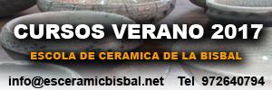 Jornadas cerámicas - Esceramic Bisbal-Cursos de verano 2017