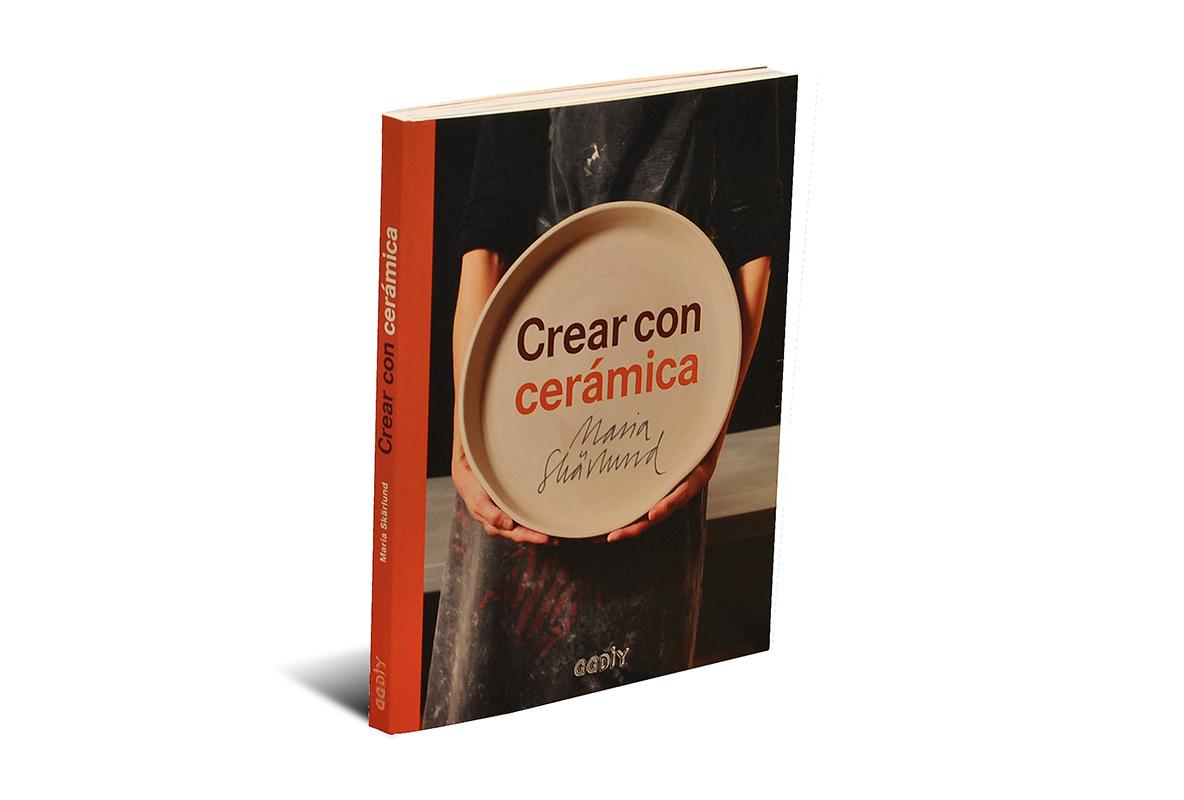 Portada del libro -Crear con cerámica-