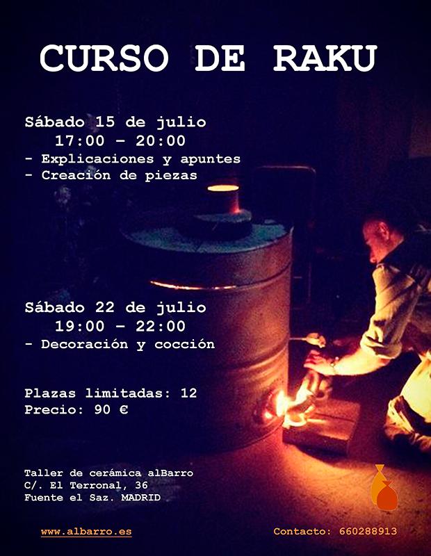 Curso de raku for Curso de ceramica madrid