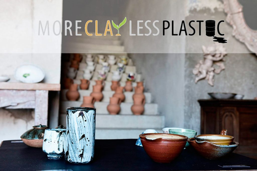 "Cerámicas de ""More Clay Less Plastic"""