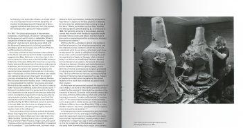 Páginas interiores del libro dedicado a Peter Voulkos