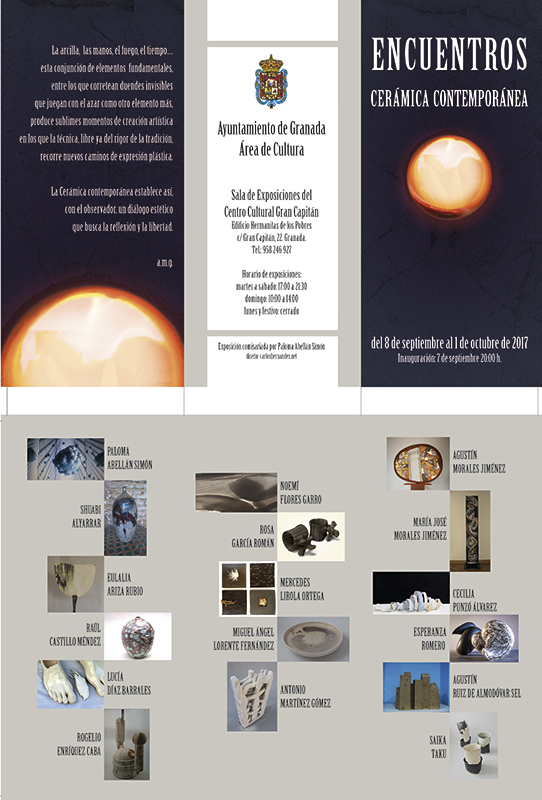 Encuentros de cerámica contemporánea