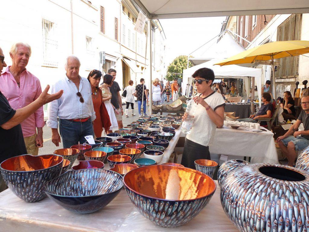 Feria de cerámica Argilla Italia 2017