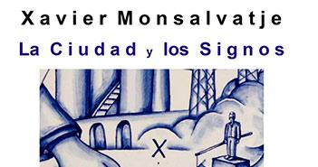 Cartel de la exposición de Xavier Monsalvatje