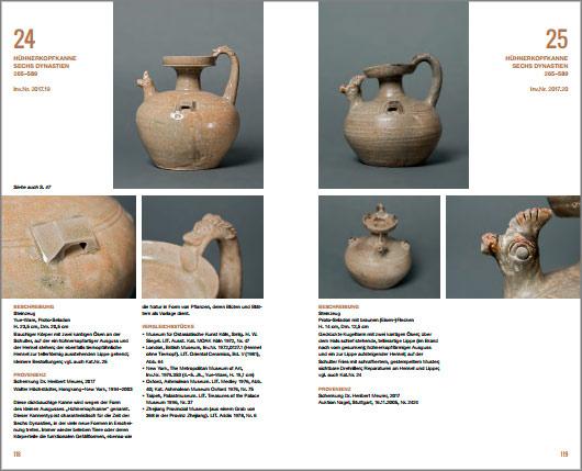 Páginas interiores del libro Fruhchinesische Keramik