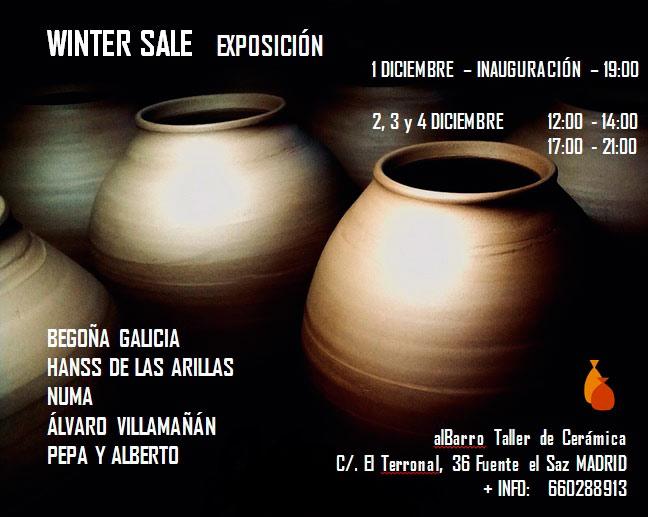 Exposición de cerámica en Albarro