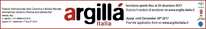 Argilla Italia - Festival Internazionale della Ceramica e Mostra Mercato