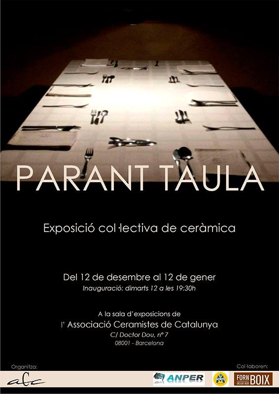 Exposición de cerámica Parant Taula