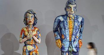 Escultura cerámica de Viola Frey