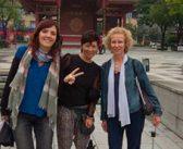 Charla de Anna Ferrer, Chisato Kuroki y Eulàlia Oliver