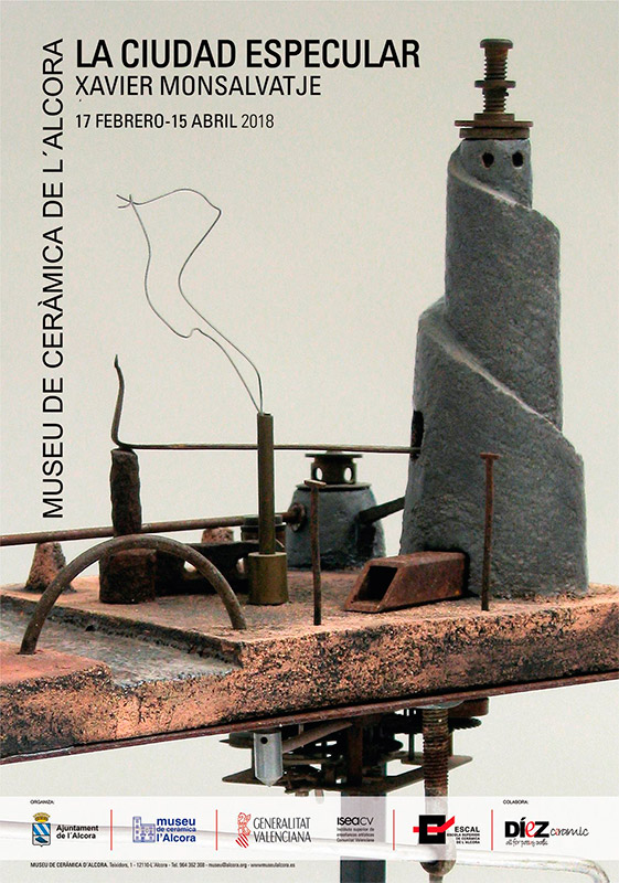 Exposición de cerámica de Xavier Monsalvatje