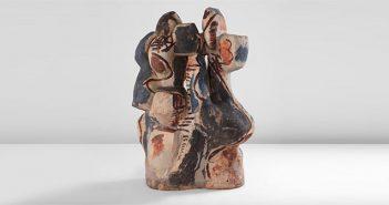 Escultura cerámica de Peter Voulkos
