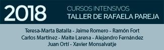 Rafaela Pareja - Cursos intensivos de cerámica 2018