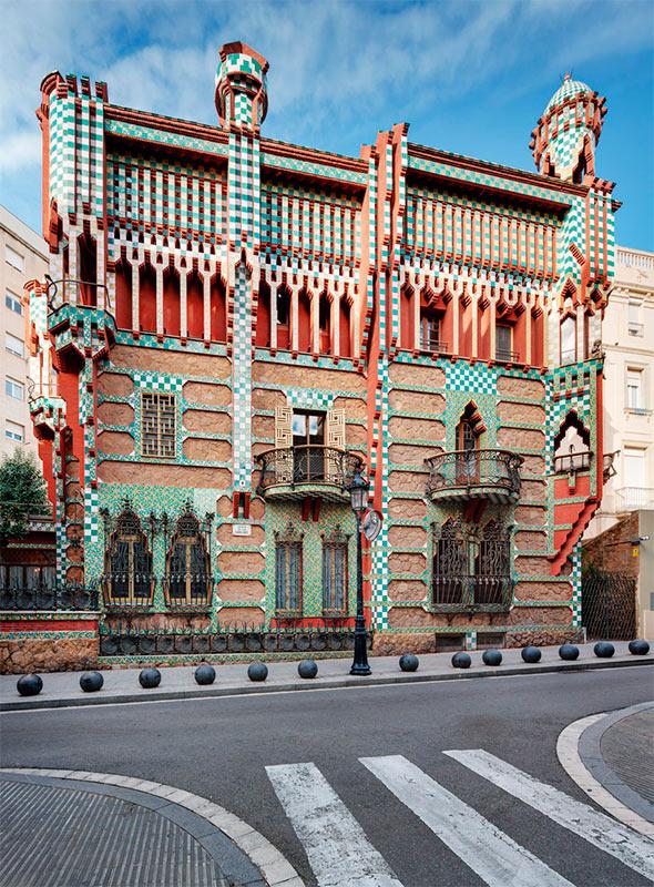 Casa Vicens, de Antoni Gaudí