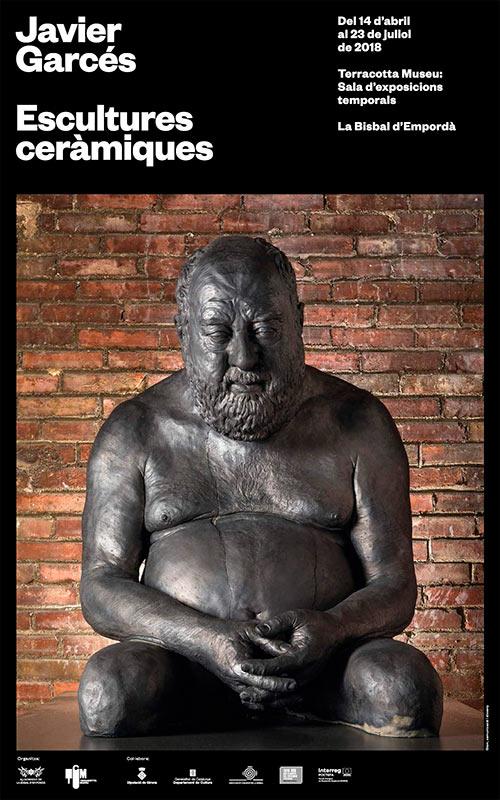 Escultura cerámica de Javier Garcés